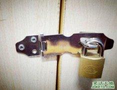 回寝室发现钥匙未带